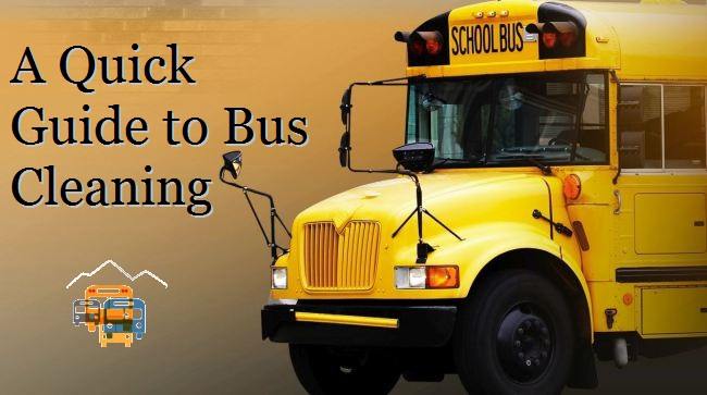 A Quick Guide To Bus Cleaning Colorado West Equipment Nebraska Central Equipment